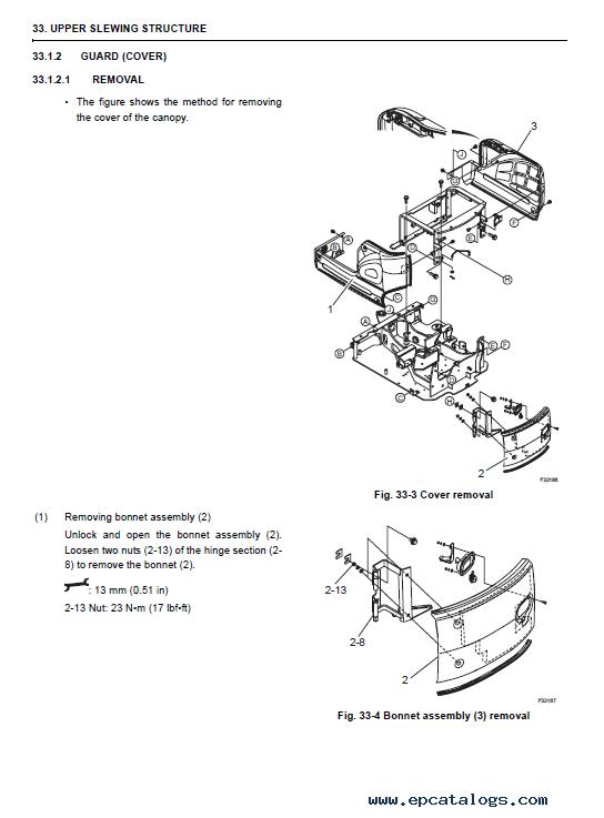 New Holland E18SR Hydraulic Excavators Workshop Manual