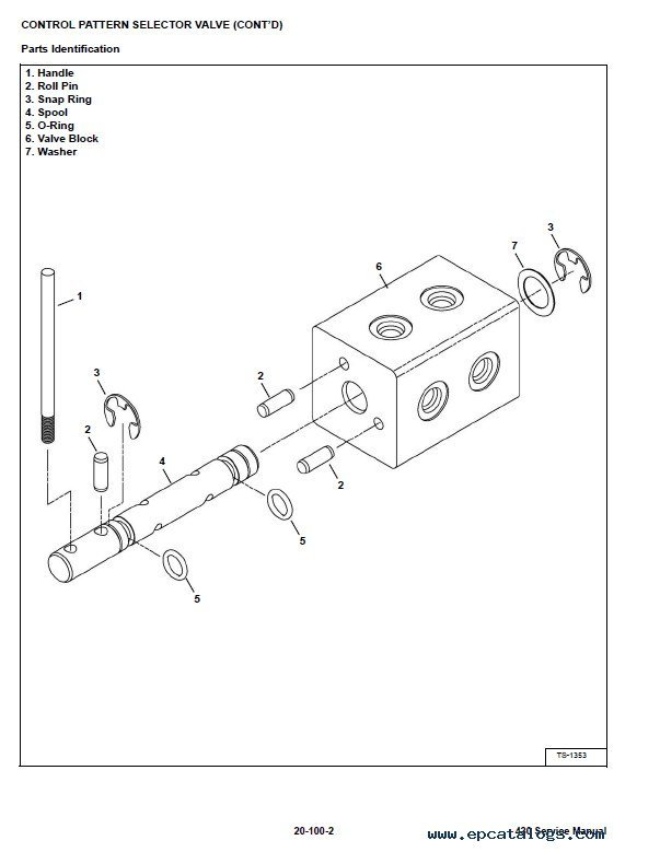 Bobcat 430 Mini Excavators Service Manual PDF, repair