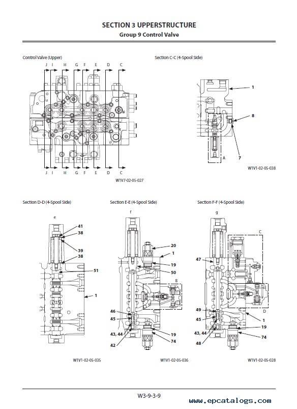 Hitachi Excavator ZX330(LC)H-5A ZX350(LC)K-5A Workshop