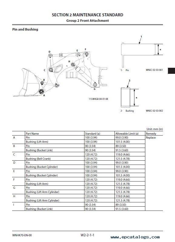 Download Hitachi Wheel Loader ZW550-6 Workshop Manual