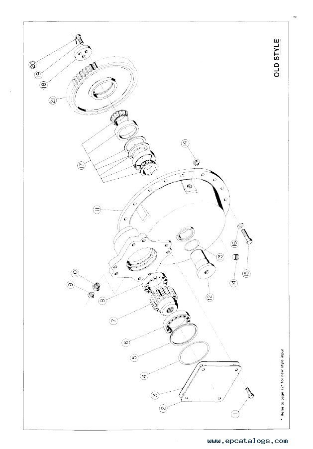 John Deere P40 Planetary Service And Part Assembly Manual