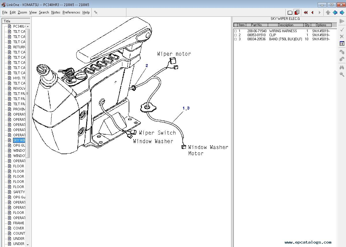 Komatsu Pc200 Electrical Diagram