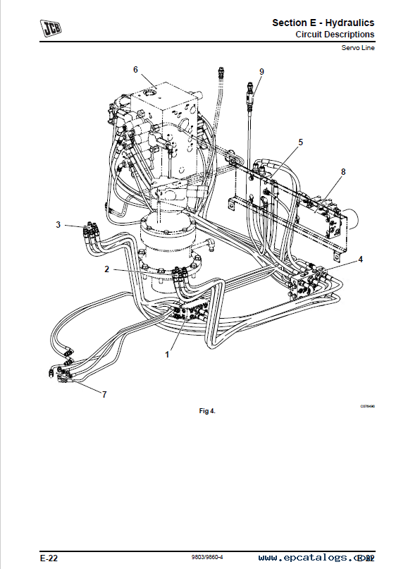 Download JCB Excavators JS115 JS130 JS145 Service Manual PDF