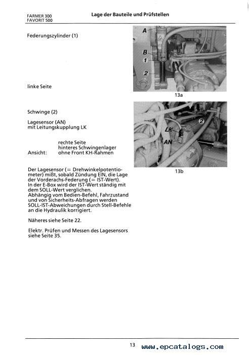 Fendt Favorit 900-800-500 Xylon Farmer 300 Front Axle Training