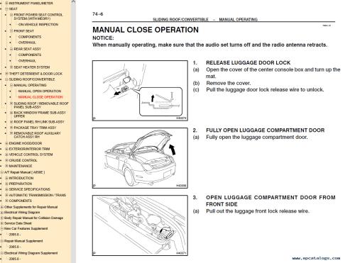 small resolution of repair manual lexus sc430 manuals pdf 5
