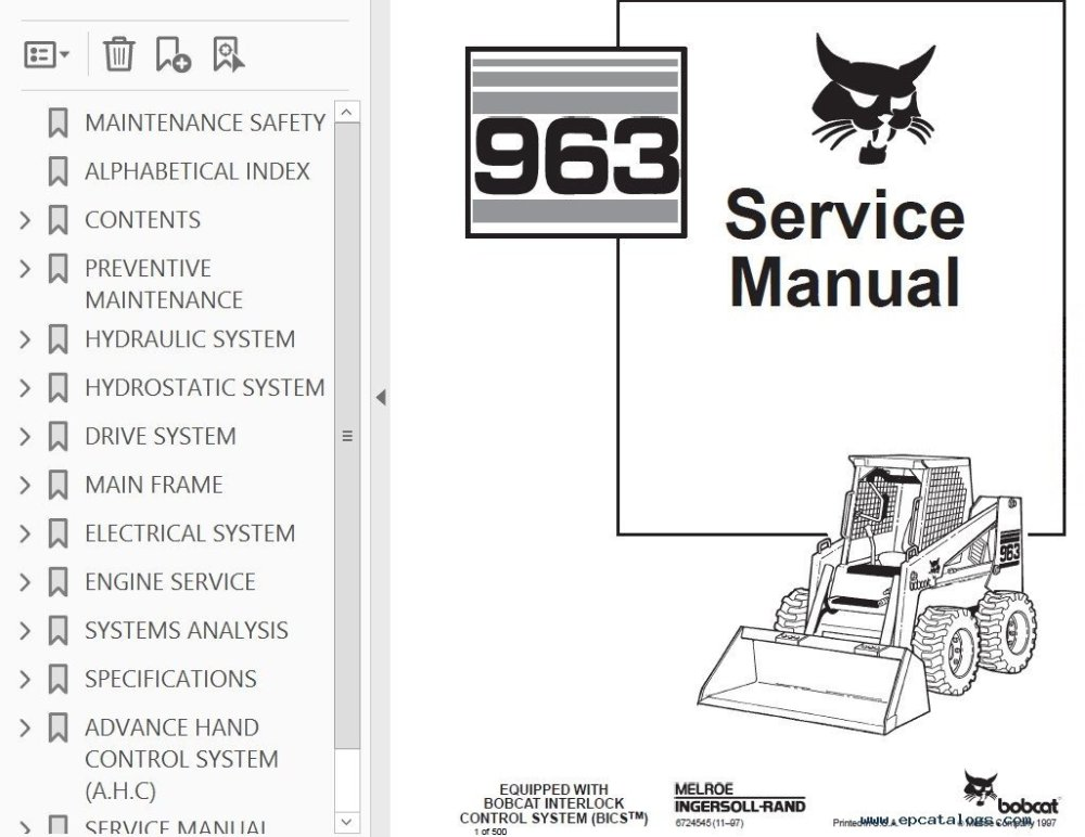 medium resolution of bobcat s manual do operador bics manual pages it provides necessary servicing and adjustment skid steer loader service manual pdf reviews write a review