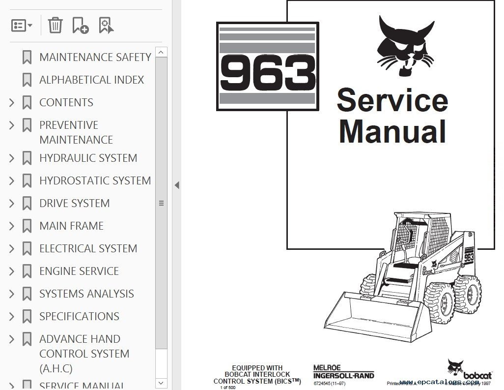hight resolution of bobcat s manual do operador bics manual pages it provides necessary servicing and adjustment skid steer loader service manual pdf reviews write a review