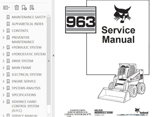 small resolution of bobcat s manual do operador bics manual pages it provides necessary servicing and adjustment skid steer loader service manual pdf reviews write a review