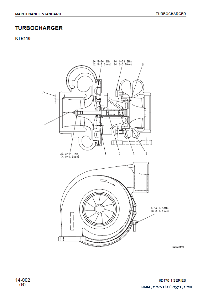 Komatsu Diesel Engine 6D170-1 Shop Manual Download