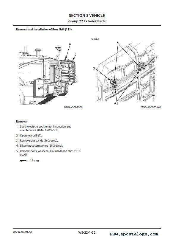 Download Hitachi Wheel Loader ZW120-6 Workshop Manual