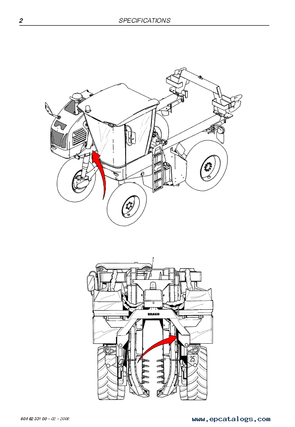 New Holland Harvester VL570-VL660/VM300-370/VM460 Manual PDF