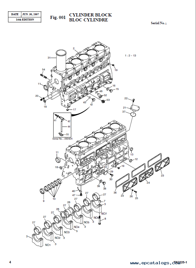 Terex TXС 225LC-1 Hydraulic Excavator Parts Manual PDF