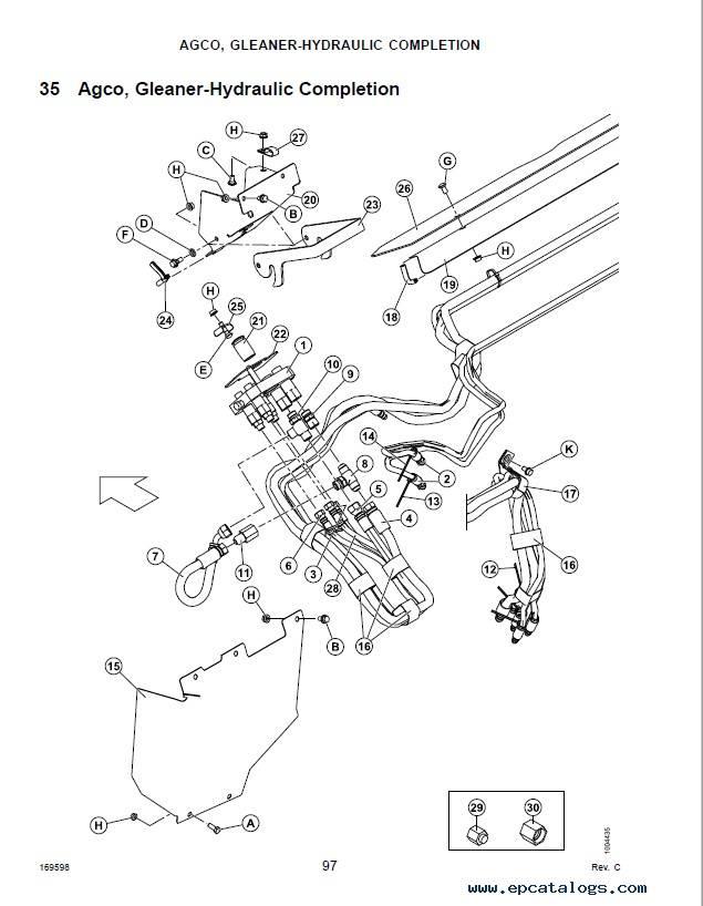 Macdon CA25 Combine Adapter Parts Catalog PDF Download