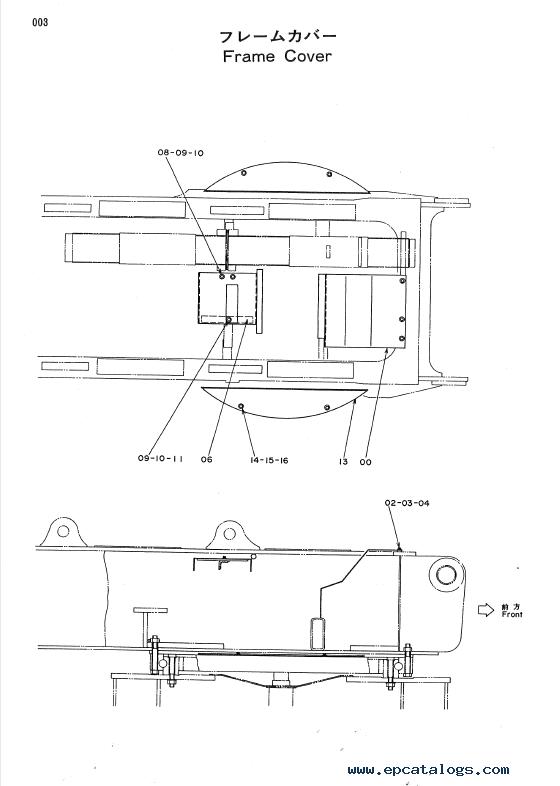 Hitachi KH300, KH300-3 Hydraulic Crawler Crane PDF Manuals