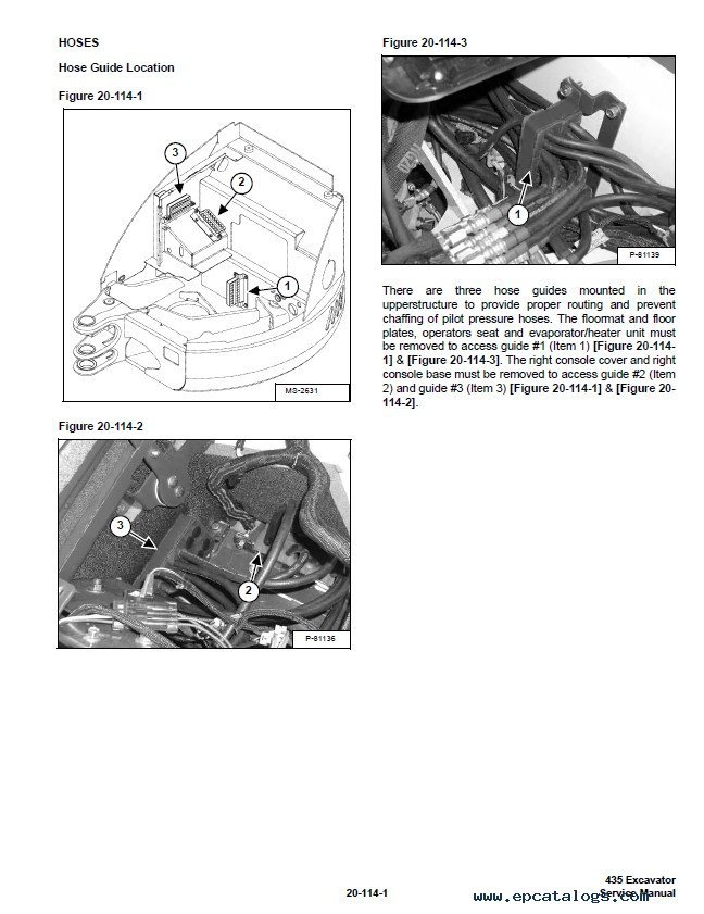 Bobcat 435 Compact Excavator Service Manual PDF, repair