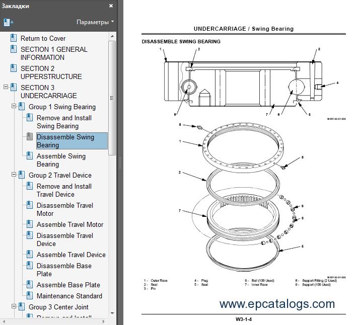 Hitachi EX150LC-5/160LC-5 Excavator Service Manual Download