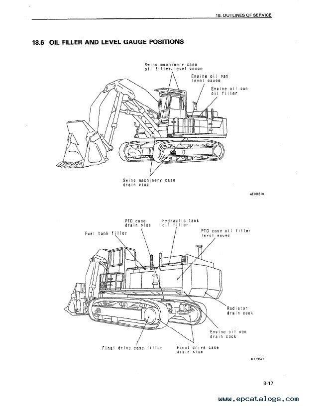 Komatsu PC1000-1 PC1000LC-1 PC1000SE-1 PDF Manuals