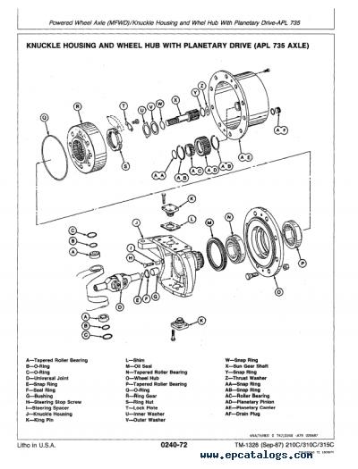 [DIAGRAM] John Deere 310d Backhoe Wiring Diagram FULL