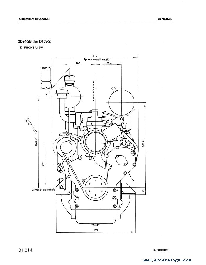 Komatsu Diesel Engine 94 Series Shop Manual Download