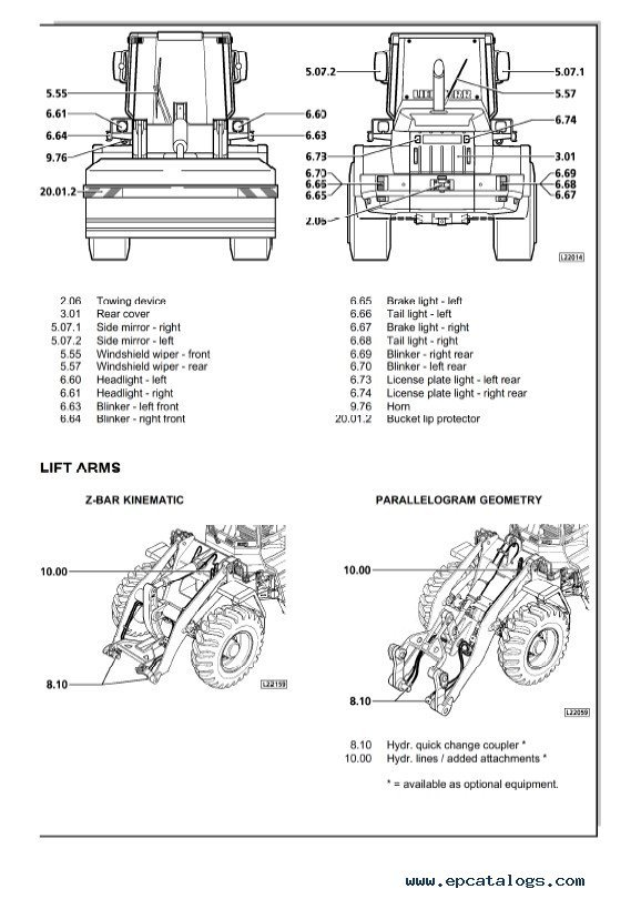 VERMEER 504 L SERVICE MANUAL - Auto Electrical Wiring Diagram