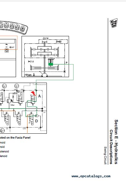 Download JCB Excavator JS200W Tier III Engine Service