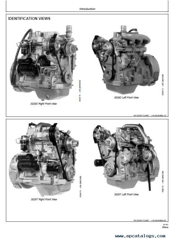 JD PowerTech 2.9L OEM Engine Operation Maintenance PDF