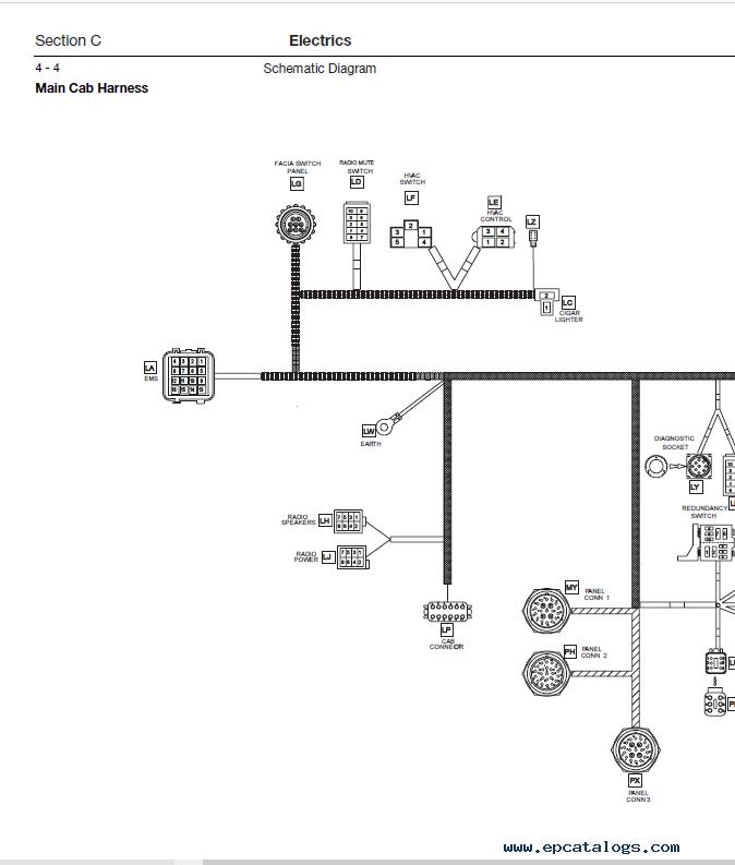 Download JCB Mini Excavator 8080 Service Manual PDF