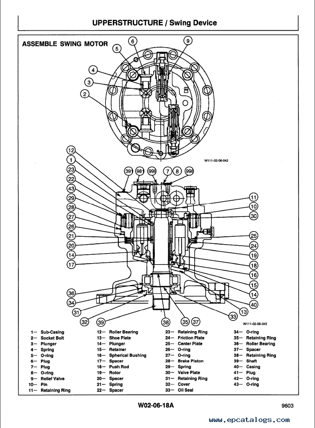 Hitachi EX400-3, EX400-3C Excavators Workshop Manual PDF