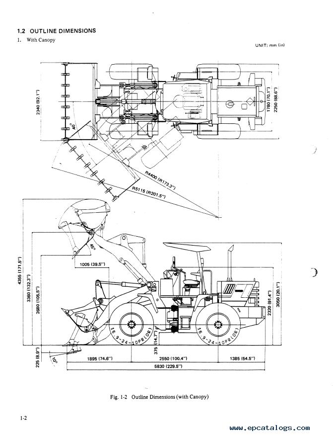 Kobelco LK350 II Wheel Loader Download PDF Service Manual