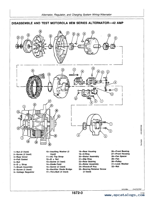 John Deere 70D Excavator Repair TM1408 Technical Manual