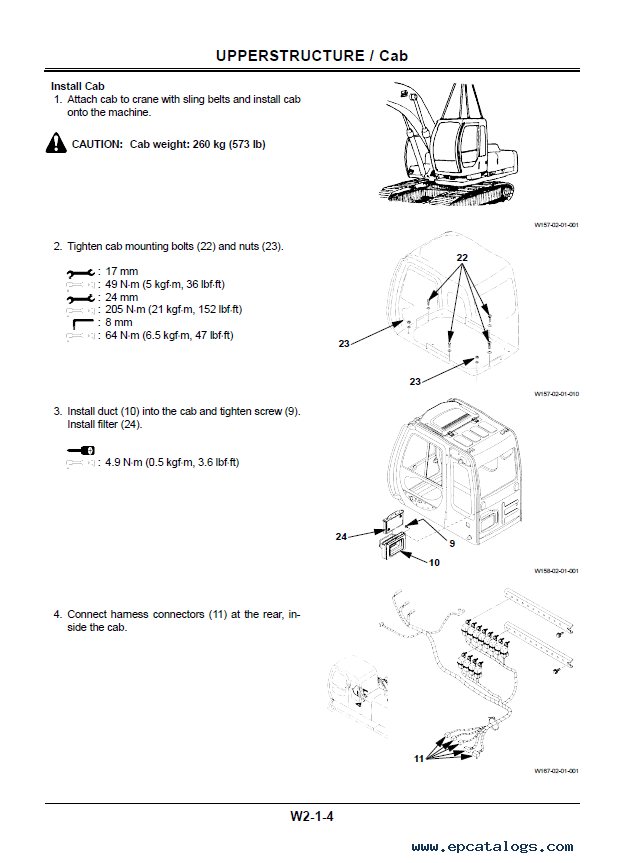 Hitachi EX550-5 EX600H-5 Excavators Workshop Manual PDF