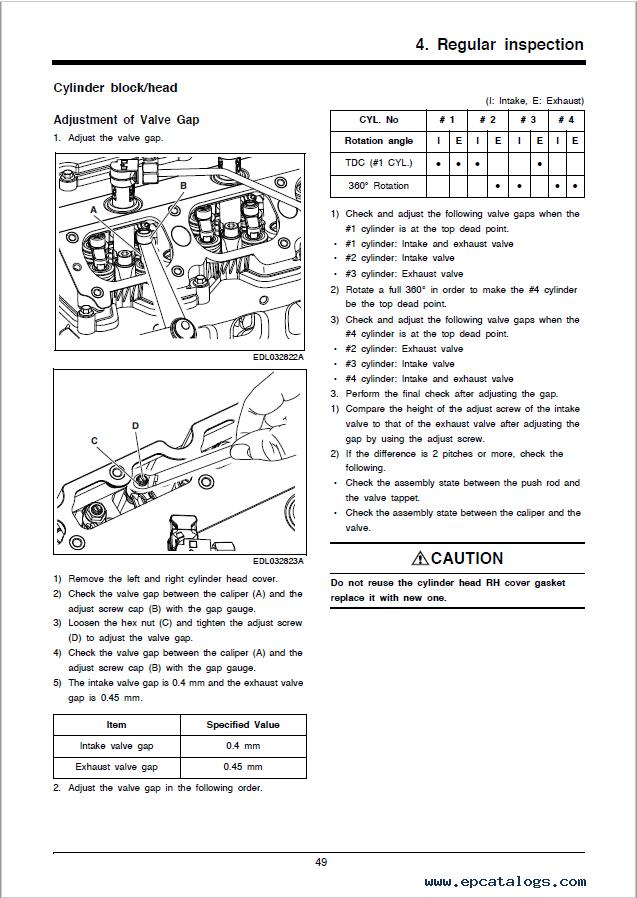 Doosan Diesel Engine D24 DIPP Service Manual Download