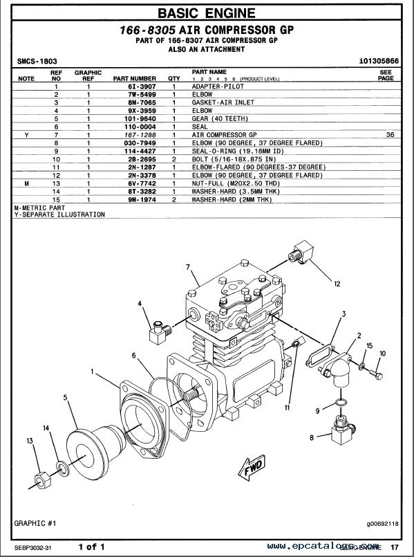 Caterpillar C 15 Truck Engine Parts Manual Pdf