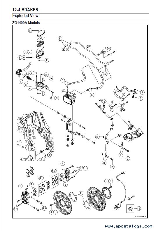 accessory relay wiring diagram 2008 gm radio kawasaki motorcycles 1400gtr, concours 14/14abs sm pdf