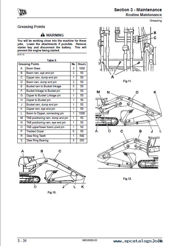 JCB JS115 JS130 JS130LC JS145 JS160 JS180 Excavators PDF