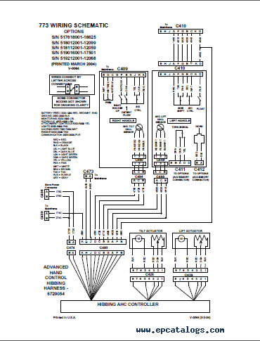 Bobcat 773 Parts Diagram. Parts. Wiring Diagram Images