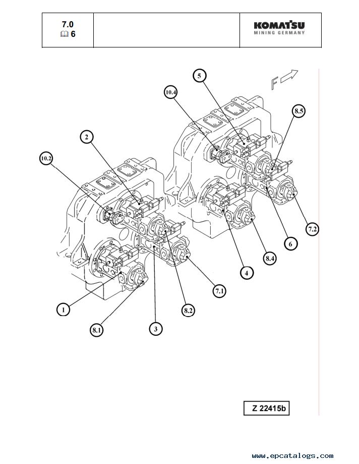 Komatsu PC5500E-6 Excavator Shop Manual Download