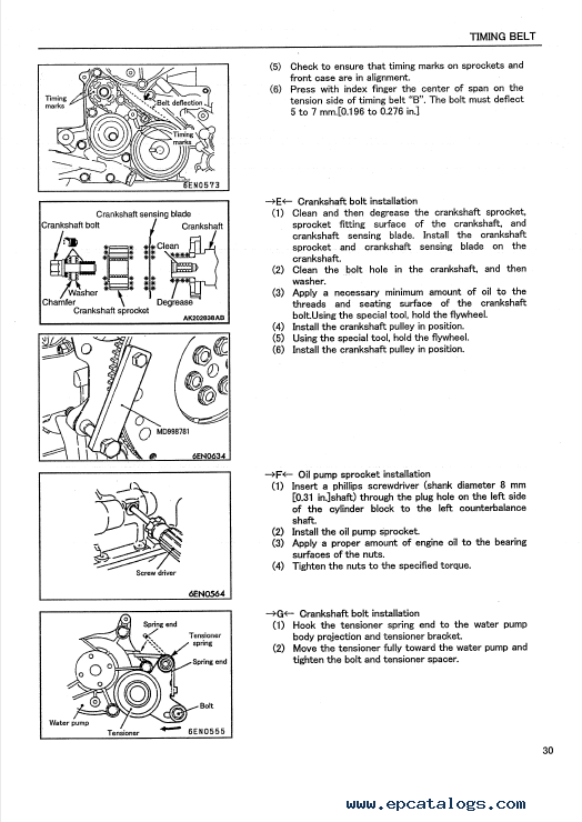 Mitsubishi 4g64 engine specs manual
