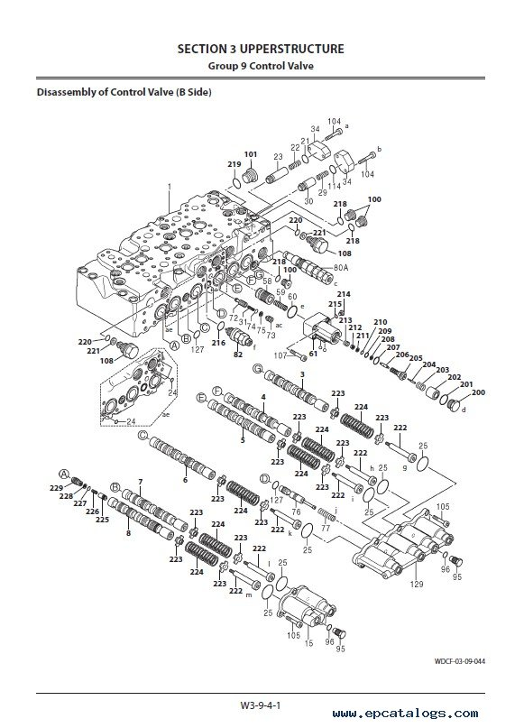 Hitachi Hybrid Excavator ZH210/LC-A Workshop Manual PDF