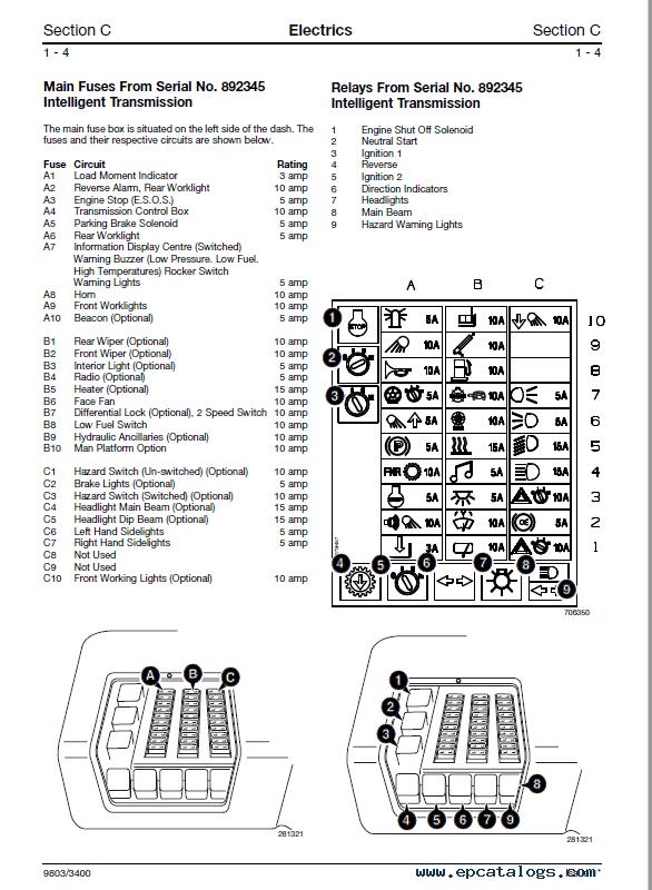Download JCB Teletruk No788001 Service Manual PDF