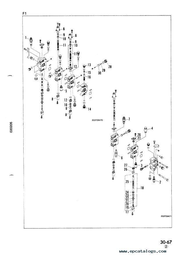 Komatsu PC100-5 & PC120-5 Hydraulic Excavator PDF Manual