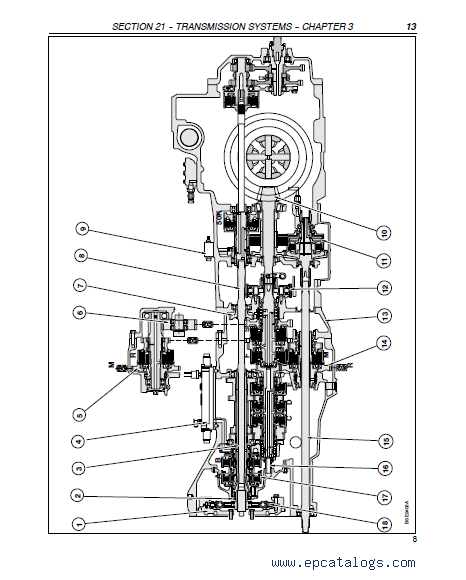 Case Tractors MXM120/130/140/155/175/190 PDF Manuals