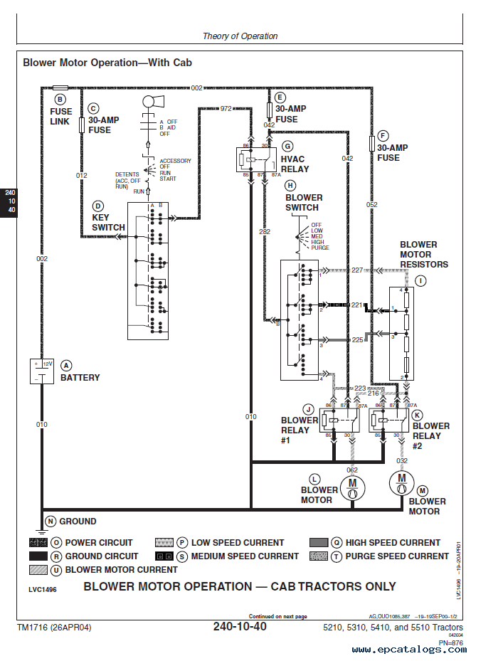 John Deere 5410 Fuse Box : 24 Wiring Diagram Images