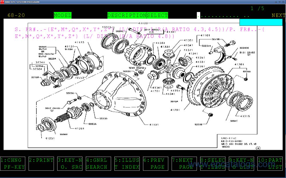 medium resolution of 2006 hino 268 wiring diagram simple wiring schema hino diesel engine parts hino engine diagrams