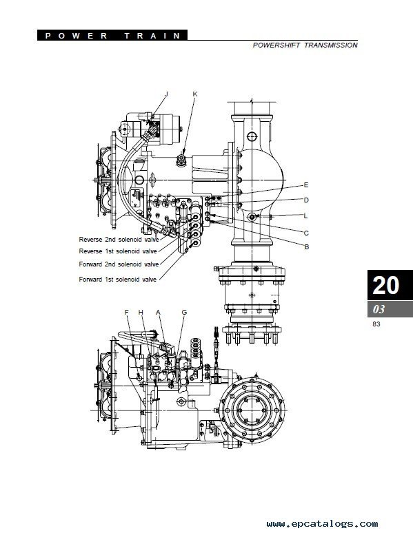 Clark SF35-40D/L & CMP40-50sD/L SM712 PDF Manual
