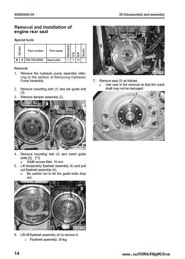 Komatsu PC210-8 PC230-8 PC240-8 Hydraulic Excavator PDF
