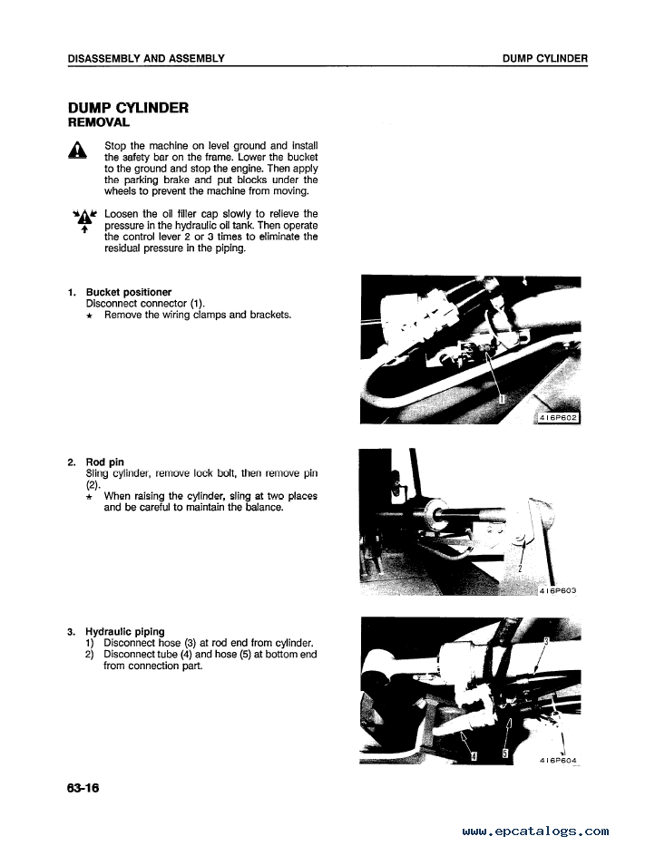 Komatsu Wheel Loader WA120-1LC Shop Manual Download