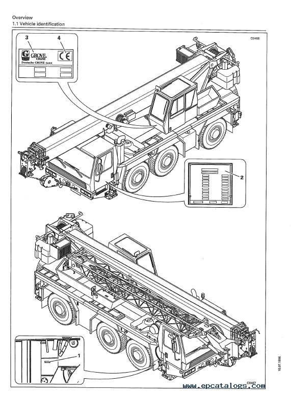 Download Grove Truck Crane GMK 3050 Operating Instruction