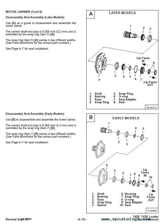 bobcat s185 fuse box location schematic diagram