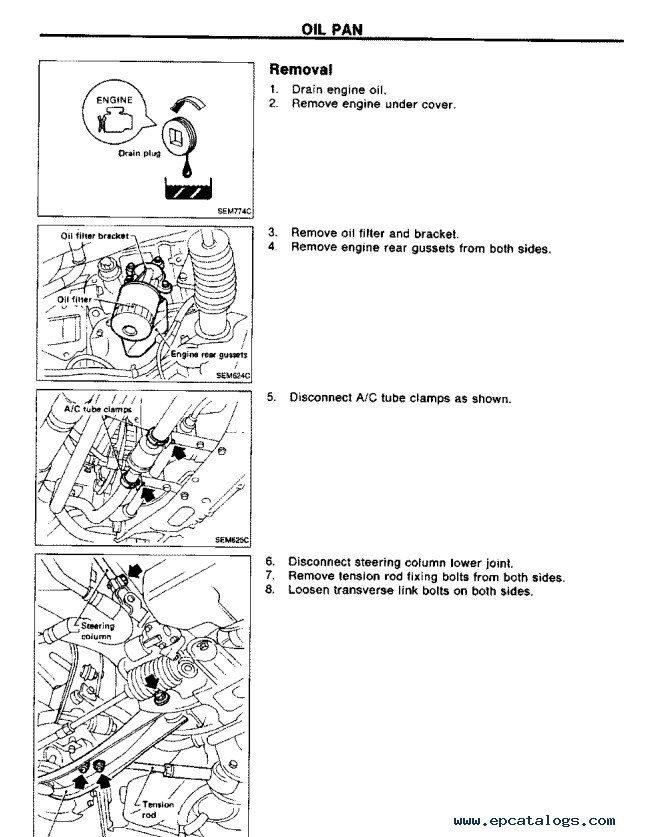 Nissan 300ZX 1984 1985 1988 1990 1994-1996 Service PDF